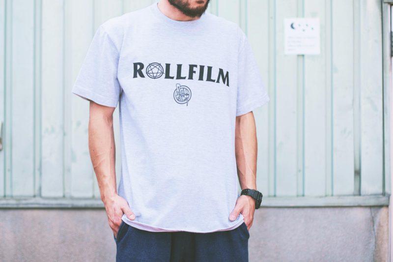 ROLLFILM TEE ロゴティー