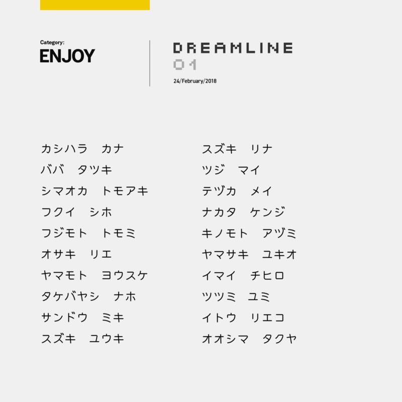 DREAMLINE01/ENJOYメンバー