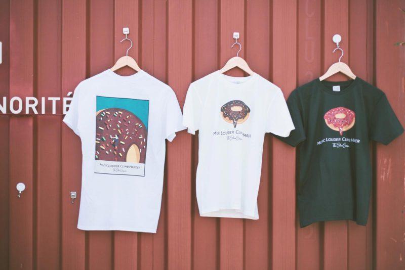 JAZZY SPORT CLIMB DONUT T-shirts