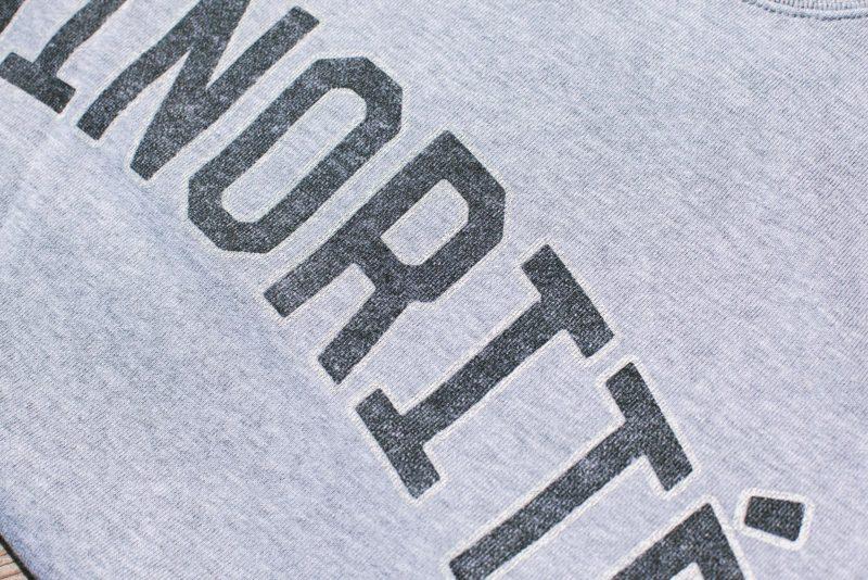 ミノリテスウェット2019 ロゴ部分