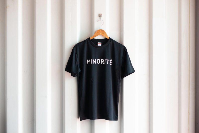ミノリテロゴTシャツ/ブラック表